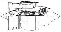 в конце прошлого столетия разрабатывался авиадвигатель большой мощности под обозначением НК-44 тягой 44 тонны.