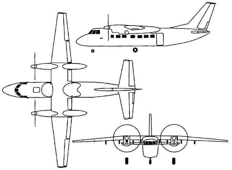 Схема Бе-32.